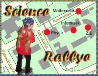 Plan der Science Rallye