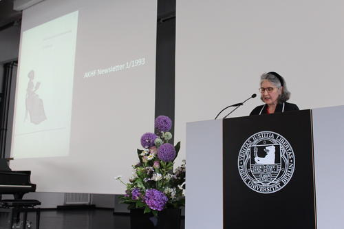 Laudatio durch Prof. Lorraine Daston