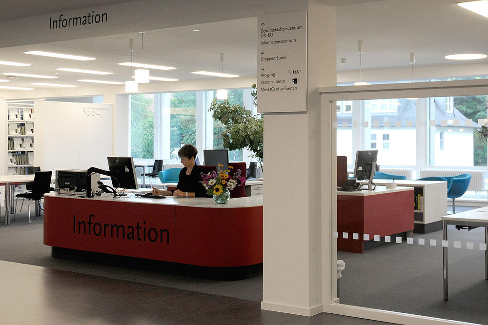 Das Informationszentrum