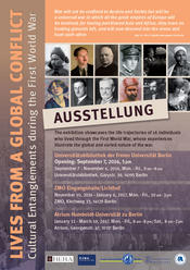 "Ausstellung ""Lives from a Global Conflict"""