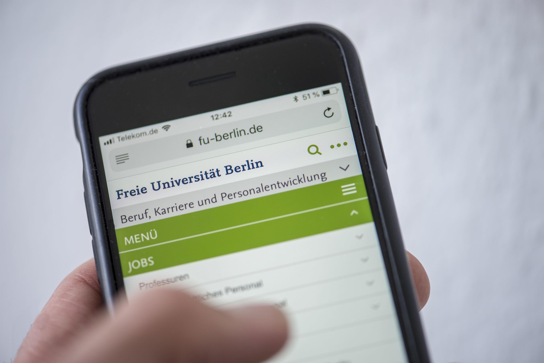 Jobs Beruf Karriere Freie Universität Berlin